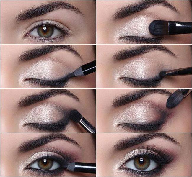 Beginner eye makeup step by