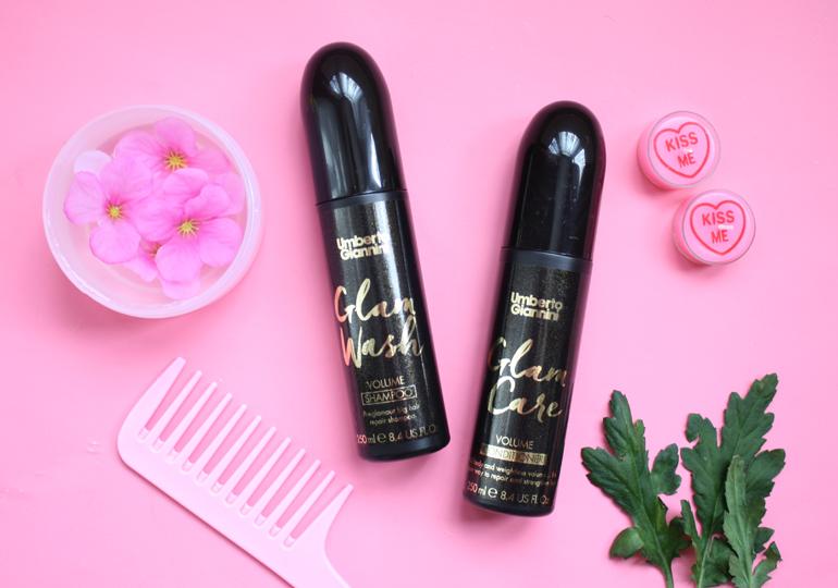 umberto giannini glam wash shampoo glam care conditioner