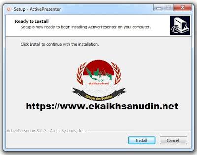 Update ActivePresenter Version 8.0.7