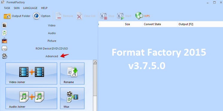 Format factory free download softonic for windows