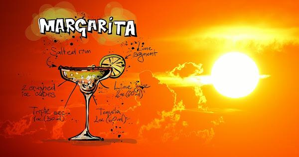 Image: Margarita Cocktail Drink Recipe at Sunset, by Alexandra/Alexas_Fotos on Pixabay