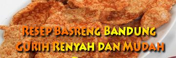 Resep Basreng Bandung Enak Banget