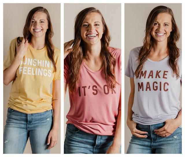 Positive Message T-Shirt for Women