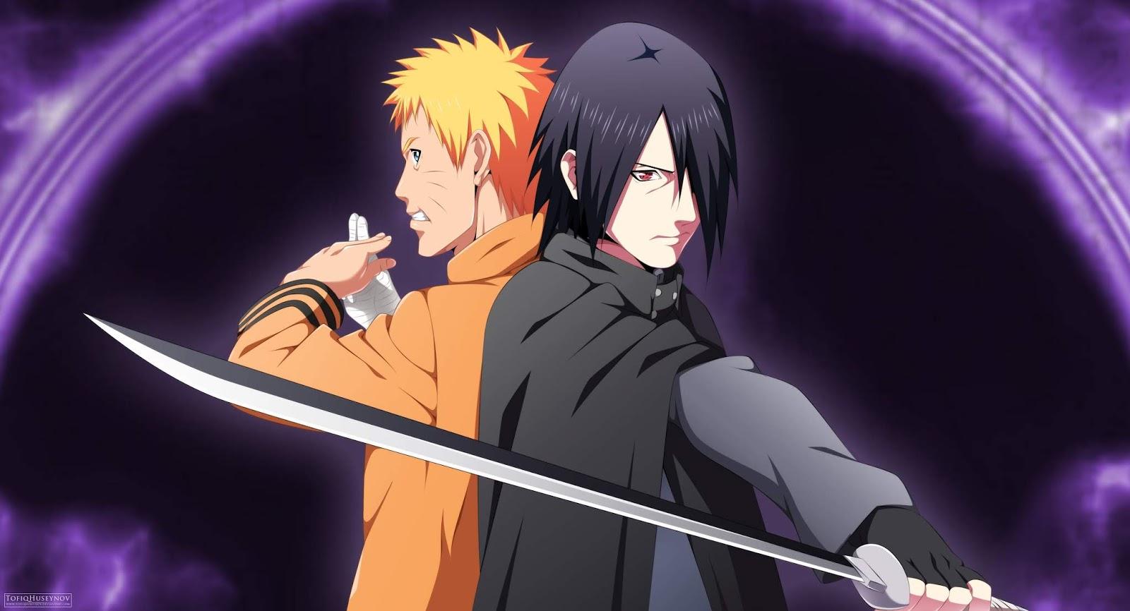 Naruto dan Sasuke