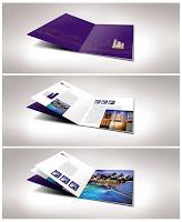 İlk sayfası tamamen mor renkli olan turistik mekan kataloğu