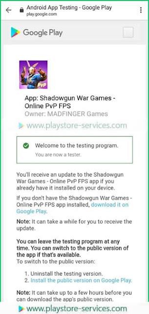 تنزيل اللعبة في النسخة التجريبية المفتوحة على متجر Google Play
