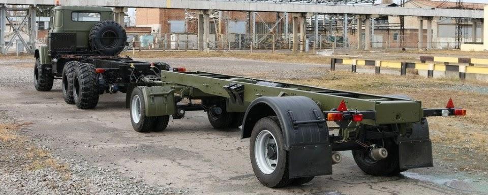 АвтоКрАЗ розробив новий причіп КрАЗ-А191Н2