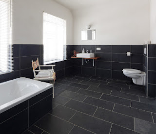 real stone tile, natural, safe for the chemically sensitive
