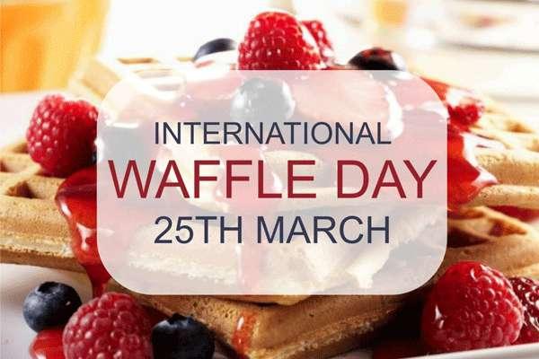 International Waffle Day Wishes Images