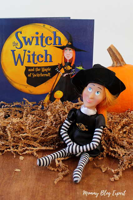 Switch Witch Halloween Toy Doll Book Set