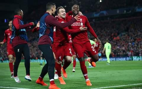 Liverpool Stun Barca; Reach 2nd Consecutive UCL  Final LIV 4- BAR 0