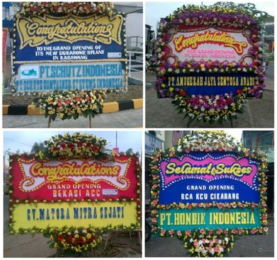 Rangkaian Bunga Papan Murah Aba Zacky Florist