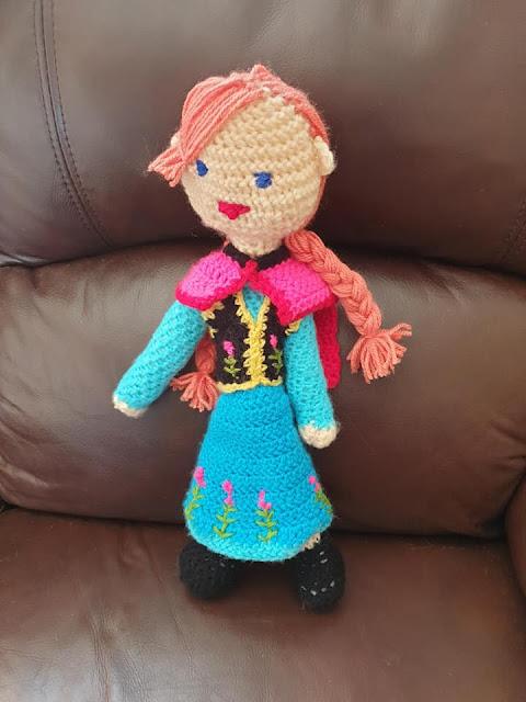 Crochet Anna doll