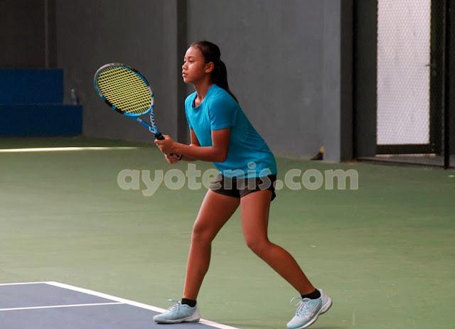Lala Melaju ke Putaran 2 Kejurnas Tenis New Armada Cup XXIV