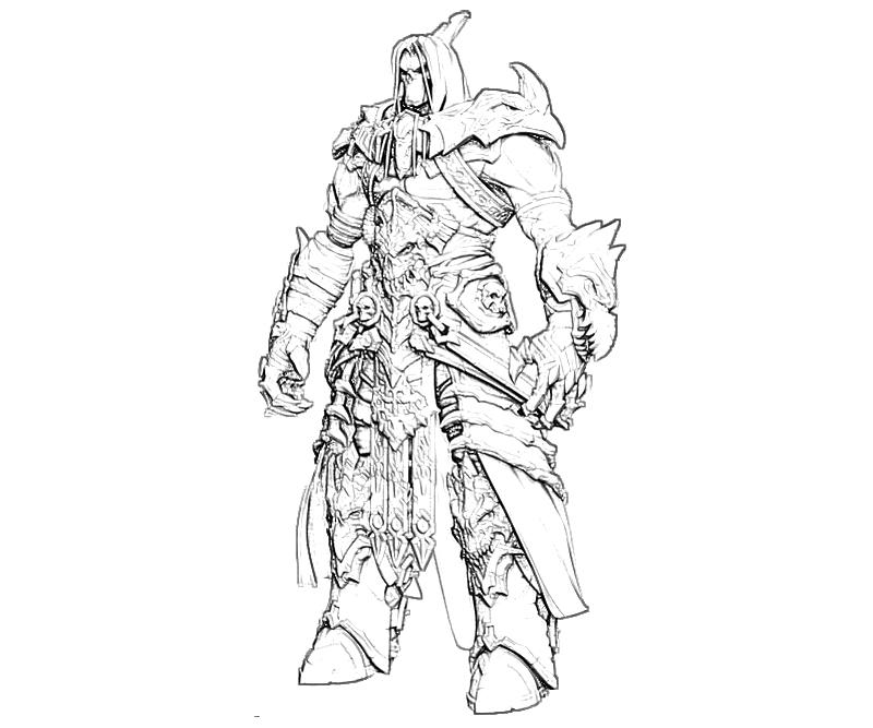 black death coloring pages | Darksiders II Death Characters | Yumiko Fujiwara