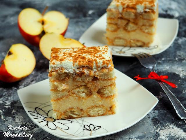 Jabłkowy budyniowiec