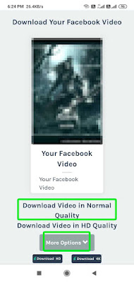 how to save facebook videos to phone gallery