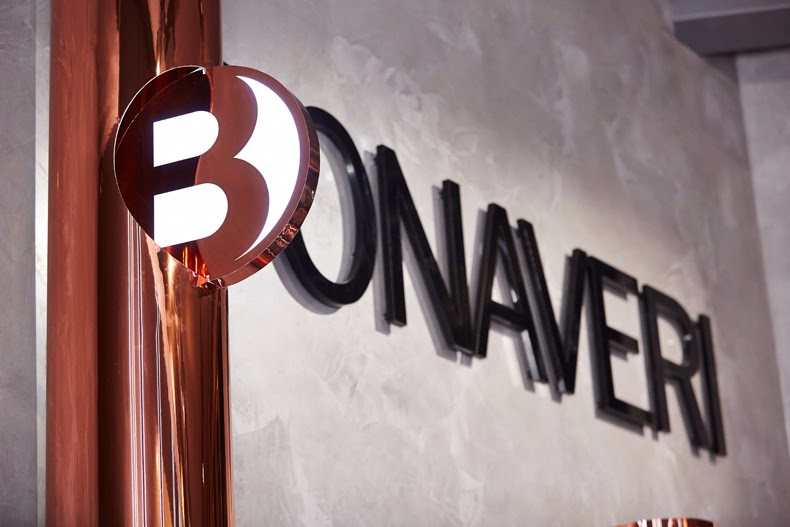 Bonaveri Milano, showroom, Chameleon Visual