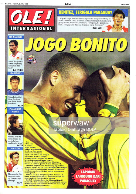 RONALDO BRASIL JOGO BONITO