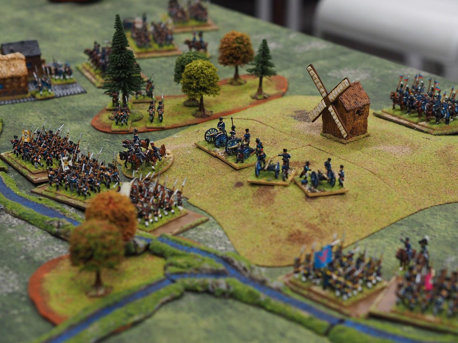 Ligny - Prussian Deployment
