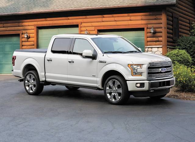 2016 Ford F-150 Limited white
