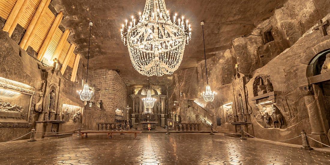 St. Kinga's Chapel - Mina de Sal Wieliczka