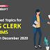 IBPS Clerk Prelims Exam 2020 :  क्या हैं 12 दिसम्बर को IBPS क्लर्क प्रीलिम्स परीक्षा के expected topics ?