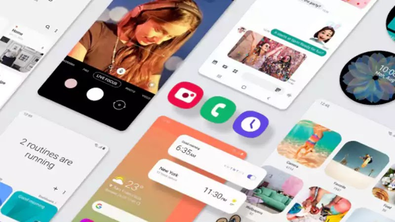يتلقى كل من Samsung Galaxy A50 و A90 5G تحديث برنامج One UI 2.5