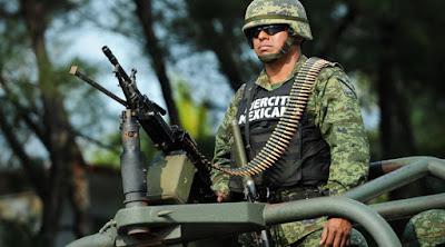 ejercito mexicano en patrullaje