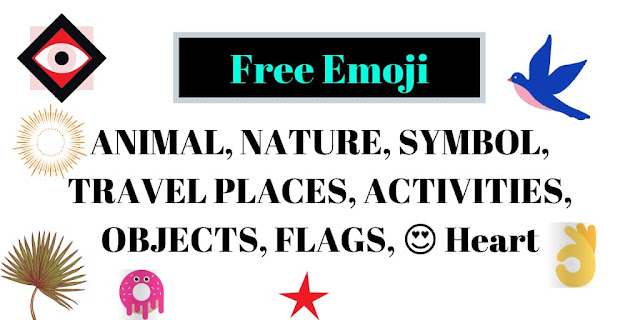 Free Emoji, ANIMAL, NATURE, SYMBOL, TRAVEL PLACES, ACTIVITIES, OBJECTS, FLAGS, 😍 Heart-All Free Download
