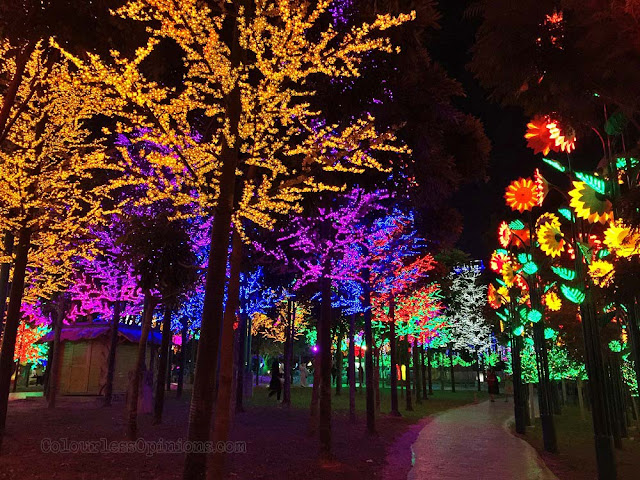 led lights i-city city of digital lights