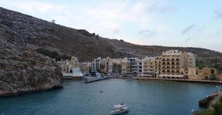 Xlendi Bay, isla de Gozo.