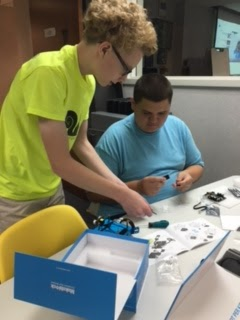 Robotics & Programming with mBot in the AT&T Classroom