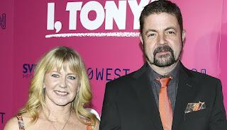 Joseph Jens Price with his wife Tonya Harding