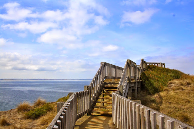 Beaches and boardwalks  of  Phillip Island