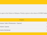 Jawatan Kosong di Perbadanan Kemajuan Negeri Perak PKNP