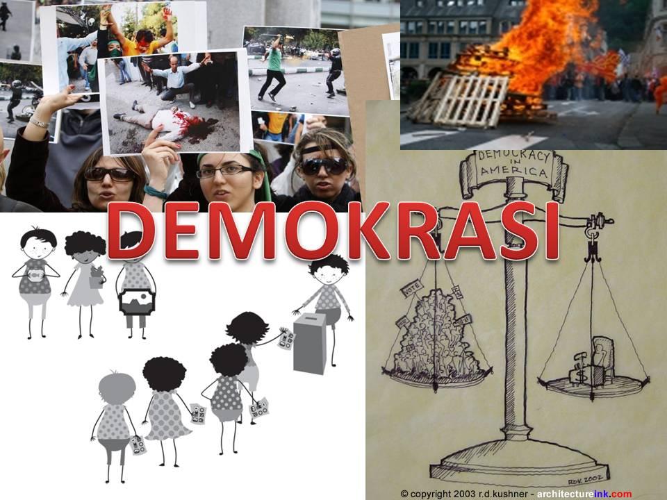 Definisi Demokrasi Cakerawala Ibtisam
