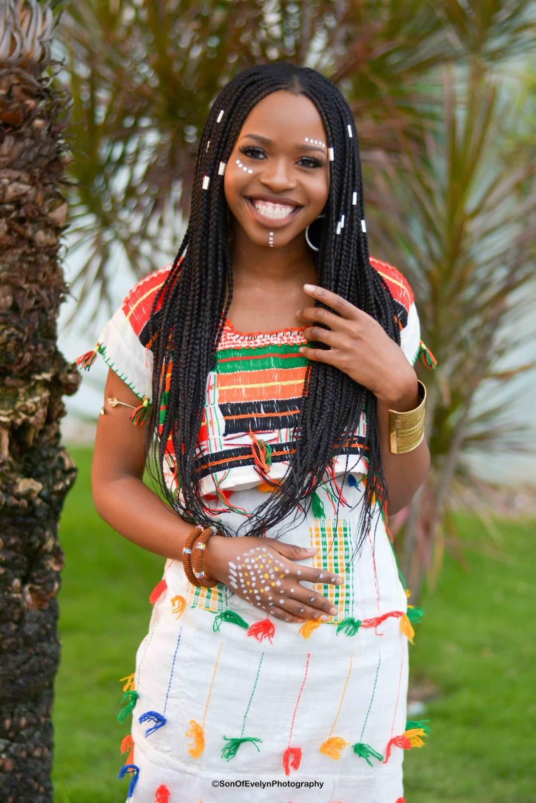 Fulani Lady costume