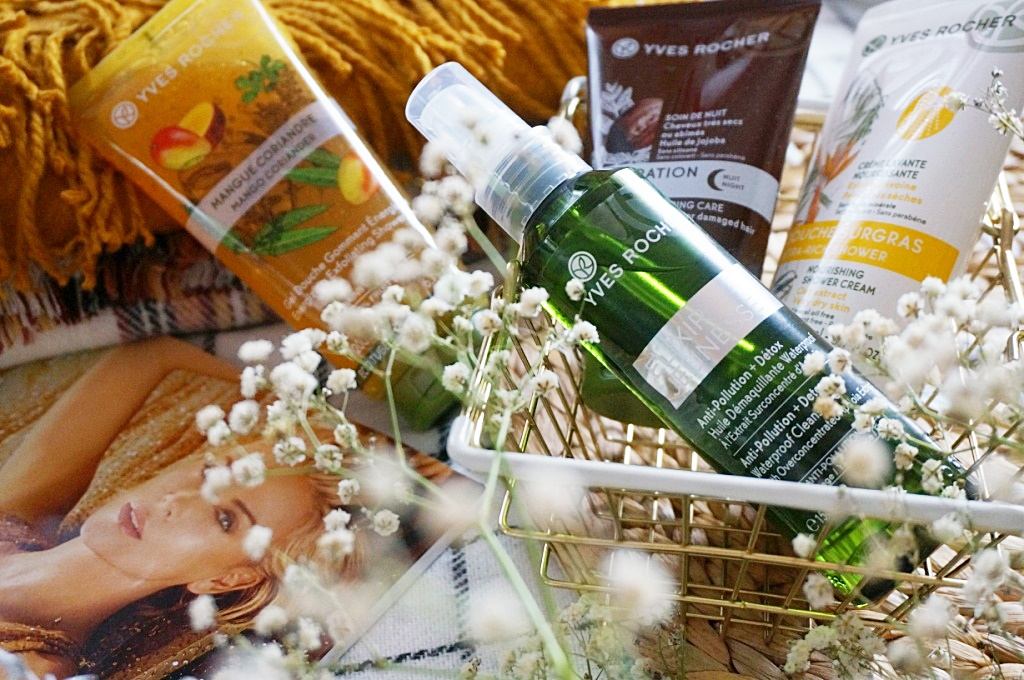 Yves Rocher kosmetyki pielęgnacja ciała twarzy włosów