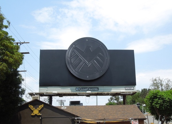 Marvels Agents of S.H.I.E.L.D. billboard