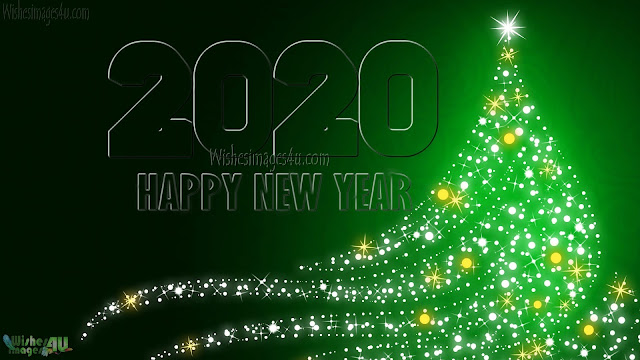Happy New Year 2020 Sparkling HD Pictures