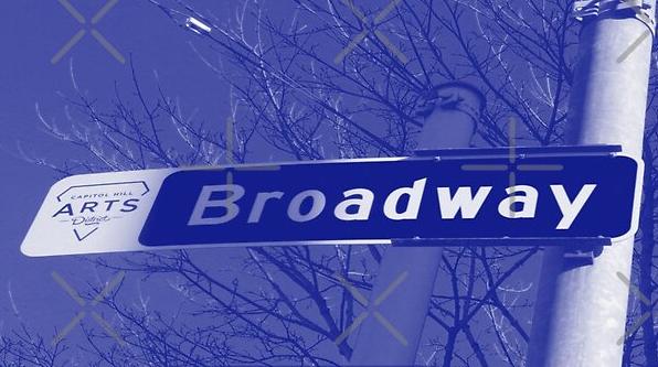 Broadway, Capitol Hill, Seattle, Washington by Mistah Wilson