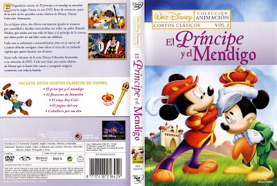 El príncipe y el mendigo (1990) | Caratula | imagen | Cartel | Disney