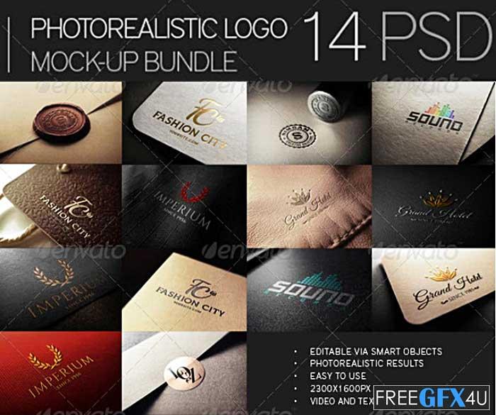 Photorealistic Logo Mock-Up Bundle