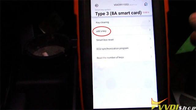 xhorse key tool max mini obd toyota 8a smart key 11