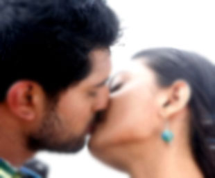 Small Film Artists forced for Lip-Kisses !