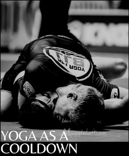 yoga as a cooldown