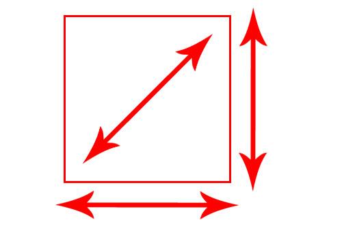 Perbedaan dan Pengertian Vertikal, Horizontal, dan Diagonal
