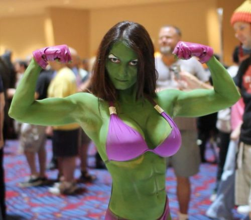 she hulk cosplay