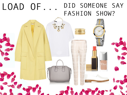 LOAD OF CHIC: If I was rich...